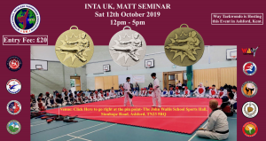 INTA UK, MATT SEMINAR - 12TH OCTOBER 2019